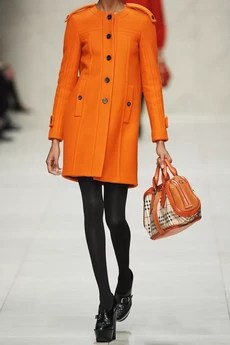 burberry prorsum orange wool winter coat net a porter fashion blog gemma critchley