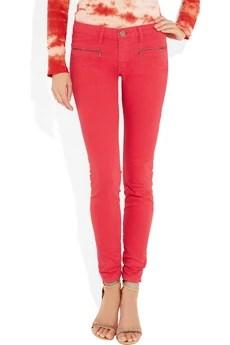 Victoria Beckham Denim Twist mid-rise skinny jeans £260