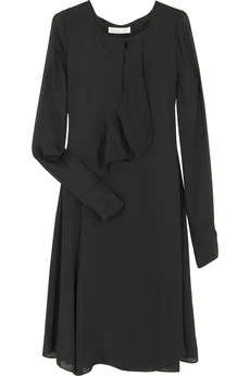 Chloé Ruffle-front dress £1,194