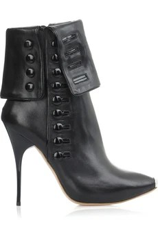 Alexander McQueen Button Trim Boots $1,745