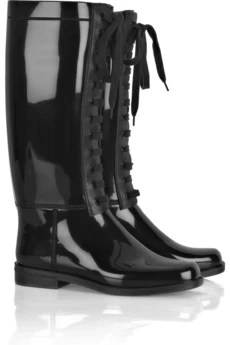 Burberry Lace-up Wellington boots