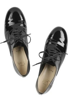 Christian Louboutin Fred patent leather shoes