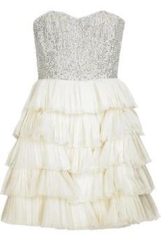 Rachel GilbertWhitney crystal-embellished dress