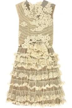 ValentinoEmbroidered mini dress
