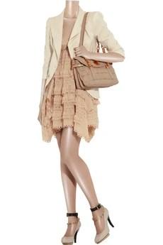 3.1 Phillip LimLaser-cut silk dress