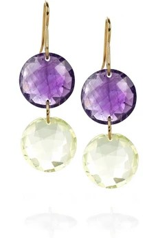 Monica VinaderLeo two-drop earrings