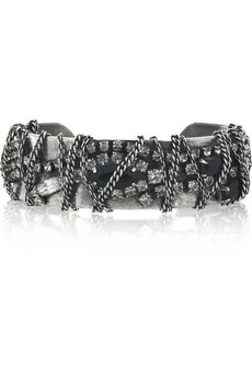 Dannijo Shai chain-covered cuff