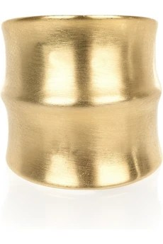 Dannijo Jacinda 14-karat gold-plated ring