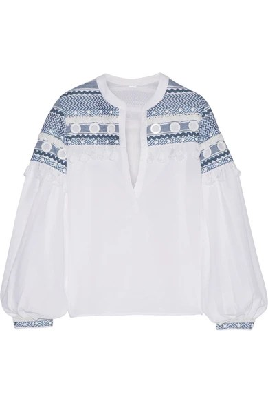 corporate-style-story-blue-white-embroidered-peasant-top-dodo-bor-or-matches
