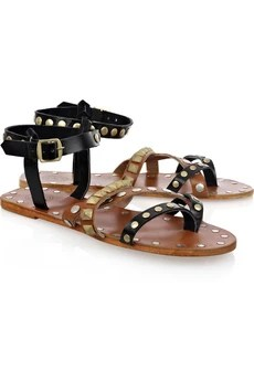 By Malene Birger Diva studded leather sandals