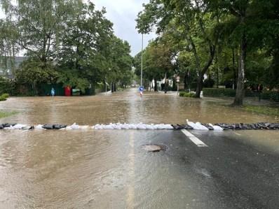 FW-Erkrath: Lageentwicklung nach dem Hochwasser in Erkrath Pressemitteilung der Stadt Erkrath