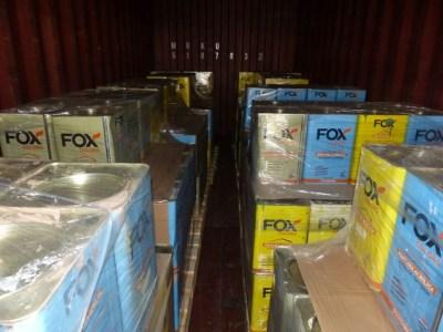 ZOLL-HH: Zoll stellt Rekordmenge Kokain sicher In drei Containern stellten Ermittler über 16 Tonnen Kokain sicher
