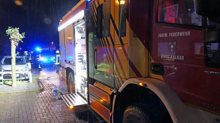 Feuerwehr Kalkar: Unwetter am 04.06.2021