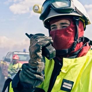 Flammen löschen und Leben retten - Kamerateam von Ford begleitet französische Feuerwehrleute
