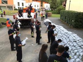 FW-GL: Einsatzkräfte der Feuerwehr Bergisch Gladbach erneut in Leichlingen im Einsatz