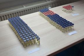 ZOLL-S: Zollfahndung Stuttgart entdeckt illegales Dopinglabor und Marihuanaplantage