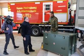 Coronakrise in Heinsberg - Die Bundeswehr hilft!