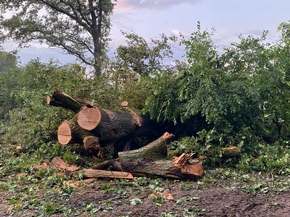 FW-SE: Erneut heftiger Starkregen im Süd-Westen des Kreises