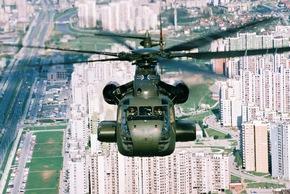 30 Jahre Dauereinsatz, 18 Jahre Afghanistan: CH-53 Hubschrauber der Luftwaffe sind zurück