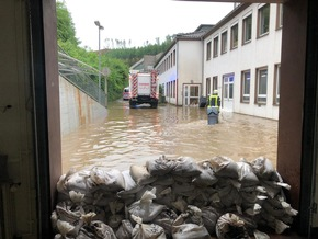 FW Schalksmühle: Fazit Unwetterlage - 159 Einsätze am Mittwoch und Donnerstag