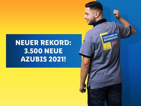 Azubi-Rekord bei Lidl: Über 3.500 junge Leute starten 2021 ihre Karriere / Breites Ausbildungs- und Studienangebot mit finanzieller Sicherheit und Perspektiven
