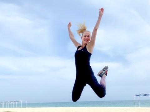 """Anneke Dürkopp weiht uns in ihr Fitness-Geheimnis ein / """"Sport und Magnesium gehören zu meinem Leben!"""""""