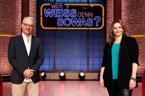 """Das Erste: Wiedersehen mit """"Edel & Starck"""": Rebecca Immanuel und Christoph M. Ohrt bei """"Wer weiß denn sowas?"""" / Das Wissensquiz vom 10. bis 14. Mai 2021, um 18:00 Uhr im Ersten"""
