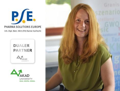PSE – Pharma Solutions Europe wird neuer Bildungspartner der AKAD University: Flexibel, individuell und praxisorientiert zum BWL-Bachelor