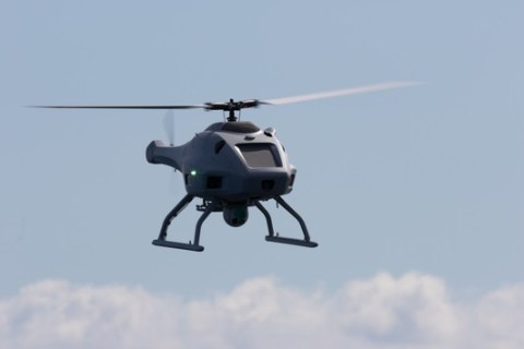 """BAAINBw testet neue Hubschrauberdrohne / """"Sea Falcon"""" wird in Korvetten 130 der Marine integriert"""