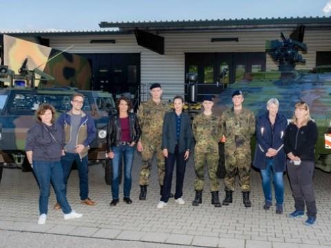 "Dreharbeiten zum Lena-Odenthal-Tatort ""Das Verhör"" (AT)"