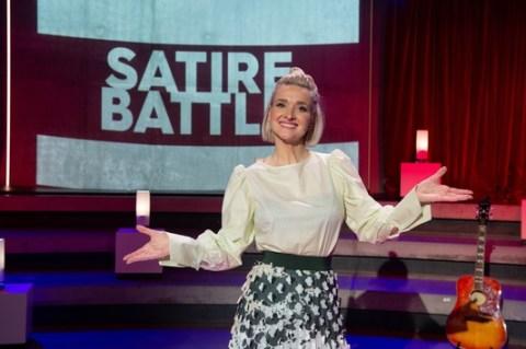 """""""Satire Battle"""": Neue Folgen der 3sat-Show mit Ariane Alter und Gästen"""