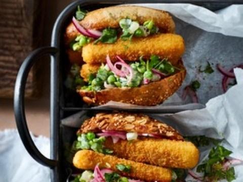 Am 10. Juni ist Tag des veganen Fischbrötchens / Vegan verliebt in den nordischen Kult-Snack