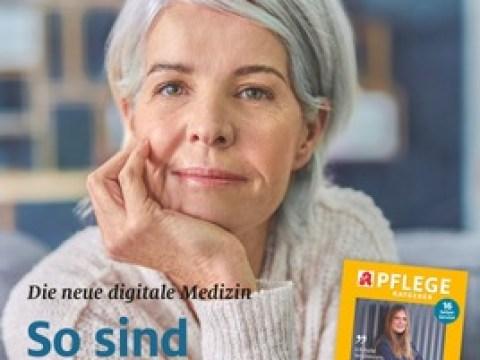 """Digitale Medizin: So sind Sie dabei / Handy und Tablet statt Überweisungsschein und Rezept auf Papier: Das Apothekenmagazin """"Senioren Ratgeber"""" über die Vorzüge der digitalen Medizin"""
