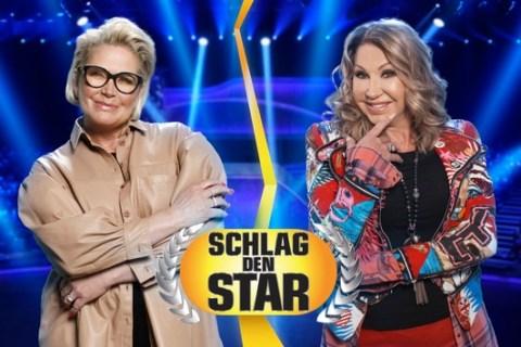 """Die Spielerinnenmänner sitzen auf der Tribüne. Bei Geiss vs. Effenberg zählt bei """"Schlag den Star"""" auf ProSieben ausschließlich Frauenpower"""