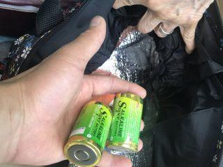 電気屋さんからのお願い「乾電池は剥き身のままバッグに入れないで」と注意喚起