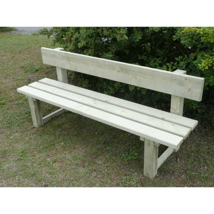 table de jardin en bois topiwall