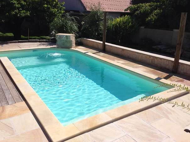 pool liner coping replacement