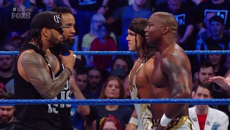Wwe Smackdown Results 11 07 Sd Live Tag Team Title