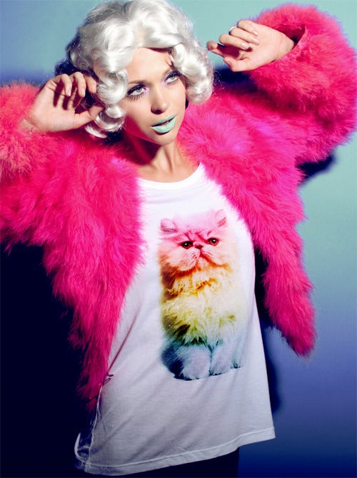 Image of Rainbow Persian Tee