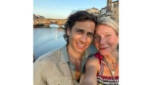 Гуинет Полтроу и съпругът й се наслаждават на Флоренция