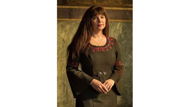 Фолк певицата Нели Андреева пя в Библиотеката на Конгреса ден преди болестта си
