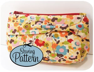 Image of Zip Clutch PDF Sewing Pattern
