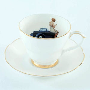 Image of Ali Miller - Always an adventure cup & saucer
