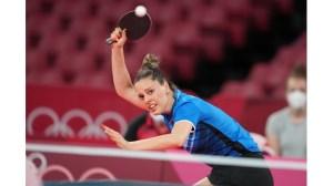 След две исторически победи Полина Трифонова е спряна от китайка в Токио.