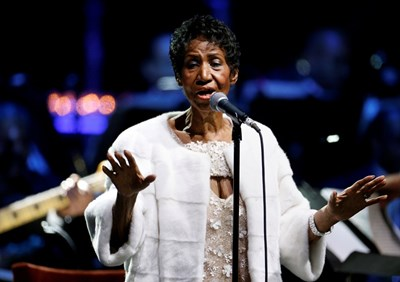 Aretha Franklin PICTURE: EXECUTIVES