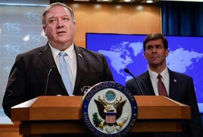 Mike Pompeo PHOTO: Reuters