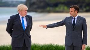 Макрон Джонсън за Brexit: дръжте на думата си