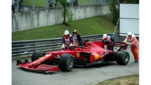 Катастрофа със 7 автомобила прекъсна Формула 1 на старта в Будапеща