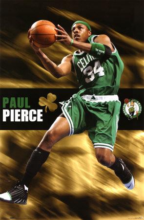 Celtics- Paul Pierce poster