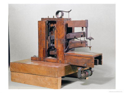 First sewing machine from  Barthelemy Thimonnier